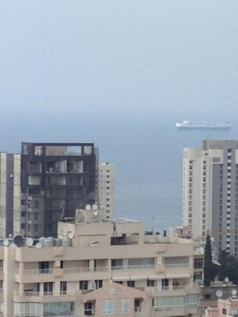 Crowne Plaza Hotel Beirut: view from lounge