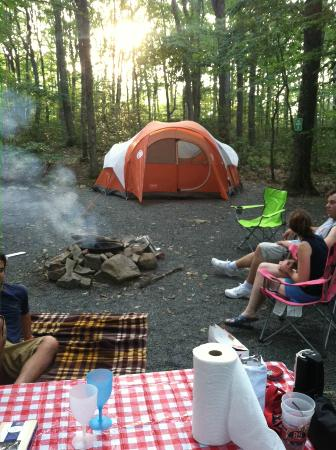 ‪Mount Pocono Campground‬