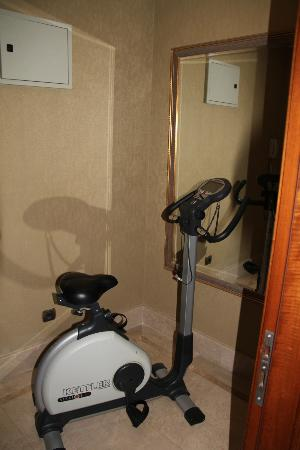 The Central Palace Hotel: Random exercise bike