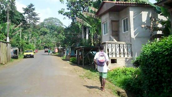 Sao Tome and Principe: Rural Village in highlands Sao Tome