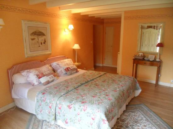 salon de d tente aupr s de la chemin e photo de logis du grand moulin les epesses tripadvisor. Black Bedroom Furniture Sets. Home Design Ideas