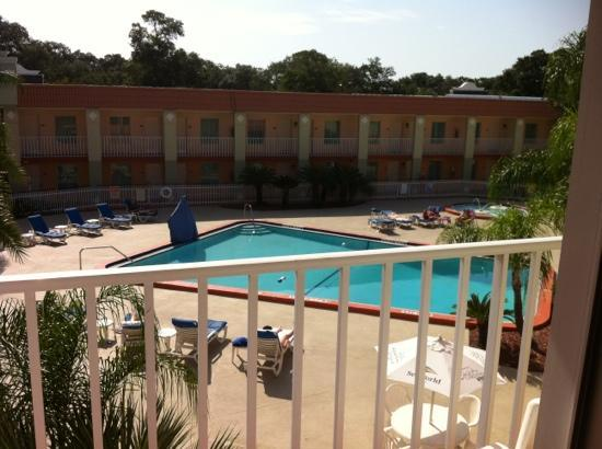Clarion Inn & Suites: view from our balcony