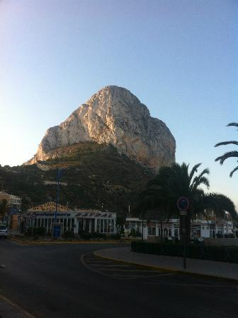 Porto Calpe: Outside Reception