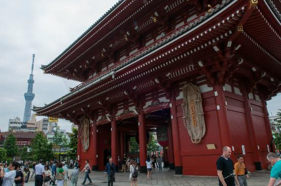 Taito, Japonya: Asakusa + Sky Tree Tower