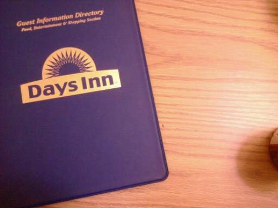 Days Inn - Des Moines Merle Hay: binder