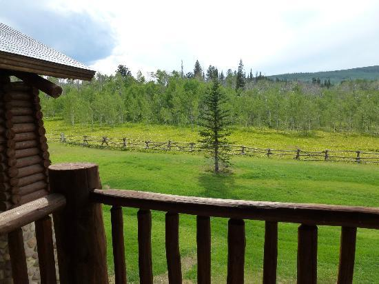 Daniels Summit Lodge: view from the balcony