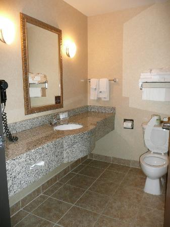 Sleep Inn & Suites: Nice big vanity