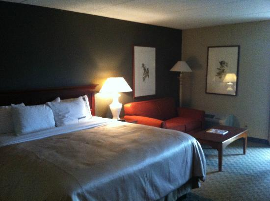 Woodcliff Hotel and Spa: Room layout