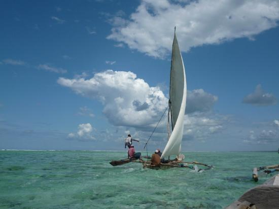 Zanzibar Retreat Hotel: Ngalawa traditional fishing boat