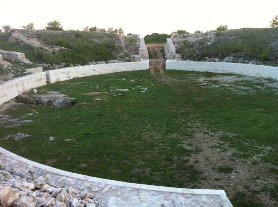 Dalmatia, Croatie : Amphitheatre