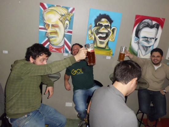 GOL Backpackers Hostel: caricaturas perfeitas dentro do Hostel