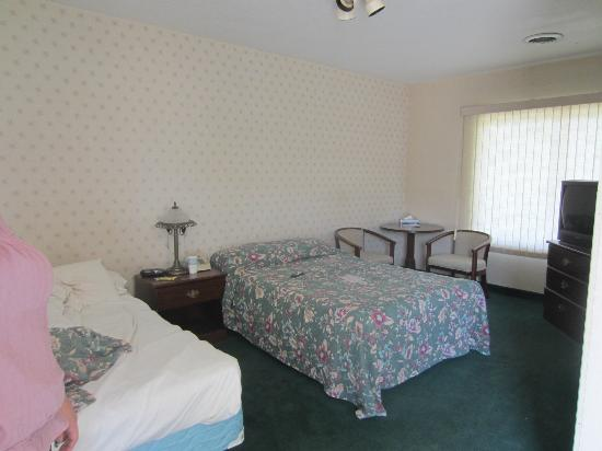 River Heights Motel: A view of a more traditional room.
