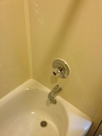 Quality Inn &amp; Suites by Convention Center: dirty bath tub