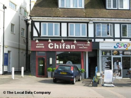 Chinese Food Delivery Dorking