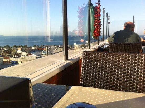 Antik Hotel Istanbul: View for Breakfast,,,
