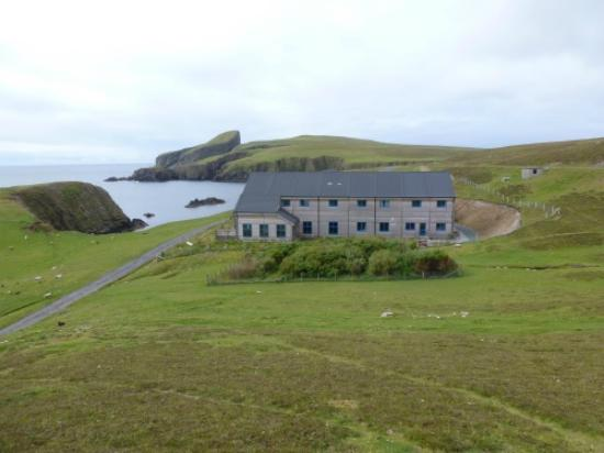 Fair Isle, UK: FIBO in its spectacular setting
