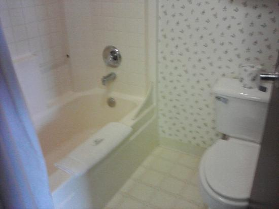 Inn at Yaquina Bay: Tiny tiny bathroom, but functional enough!