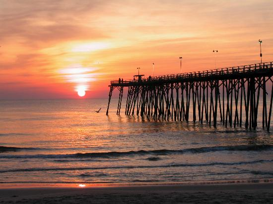 kure beach fishing pier picture of wilmington north
