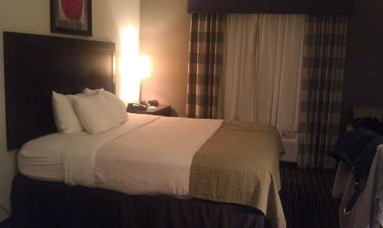 Holiday Inn Columbus-Hilliard: Bed