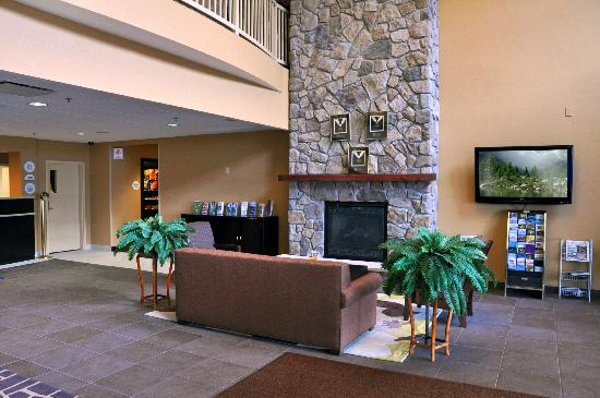 Comfort Inn & Suites: Lobby Fireplace