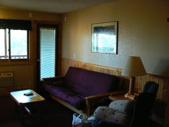 Eagle Ridge at Lutsen Mountain: Living room