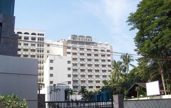 Outside View Of The Hotel Picture Of Savera Hotel Chennai Tripadvisor