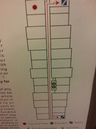 Hyatt Place Denver Tech Center: Not all rooms are the same size (slight variance)