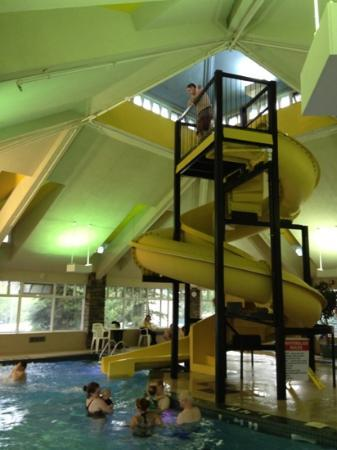 BEST WESTERN PLUS Pocaterra Inn: slide in pool area - very fast!