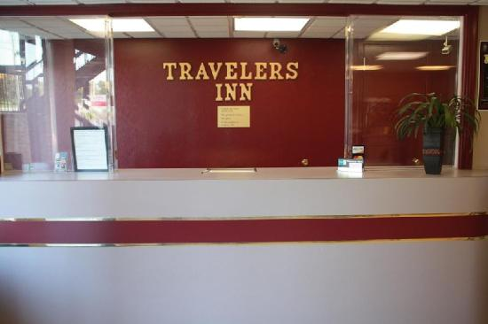 Travelers Inn Front Desk