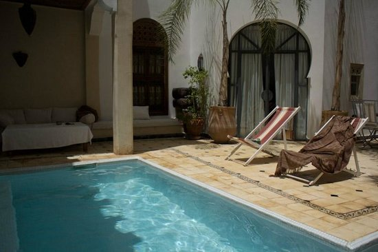 Riad Alma: swimming pool