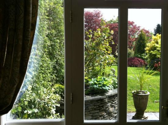 Annesdale House: view from the room