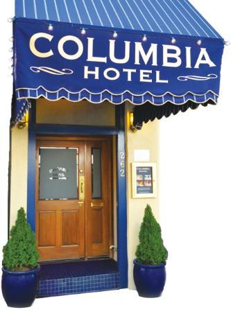 Columbia Hotel: Columbia Main Entrance