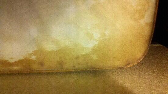 Econo Lodge: Stained mattress