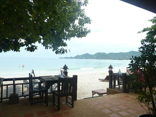 Baan Chaweng Beach Resort & Spa: What a way to start the day!!!!!! Breakfast on the beachfront