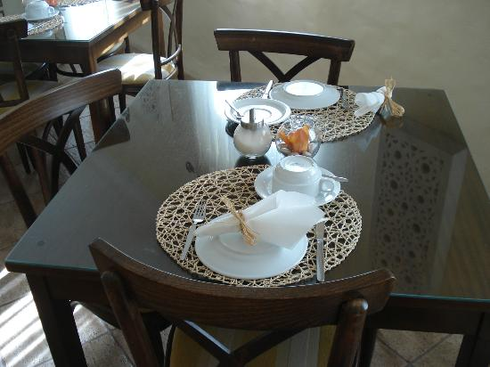 Vila Nova de Santo Andre, Португалия: Little Detail - The breakfast Table