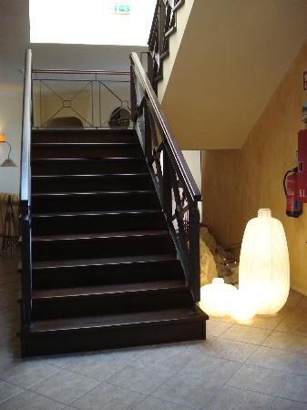 Vila Nova de Santo Andre, Portugal: Stairs - Acess to the rooms