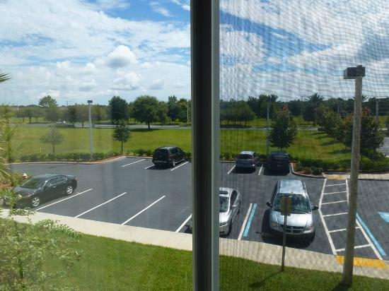 Fairfield Inn & Suites St. Augustine: View of parking lot from 2nd floor room (facing east)