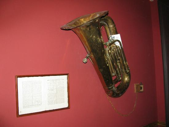 2 Cambridge Street: This is how you request thing...by playing the tuba