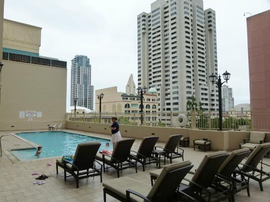 outdoor pool on 3rd floor picture of the westin san. Black Bedroom Furniture Sets. Home Design Ideas