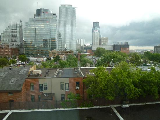 Hotel Espresso Montreal Centre-Ville/Downtown: Room view