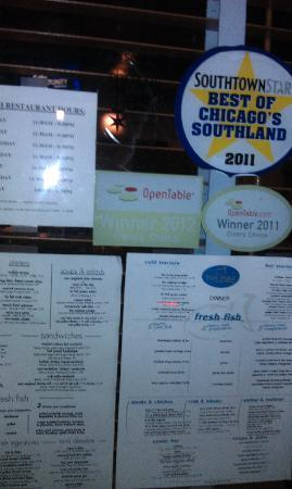 Numerous rewards and recognition picture of tin fish for Tin fish tinley park
