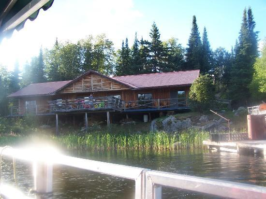 Wabatongushi Lake, Kanada: arriving