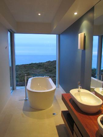 Southern Ocean Lodge: view from the master bath