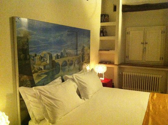 BDB Luxury Rooms Trastevere : Camera da letto