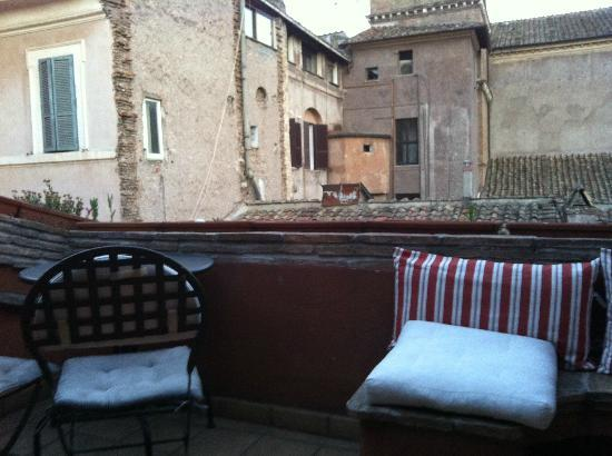 BDB Luxury Rooms Trastevere : Terrazza