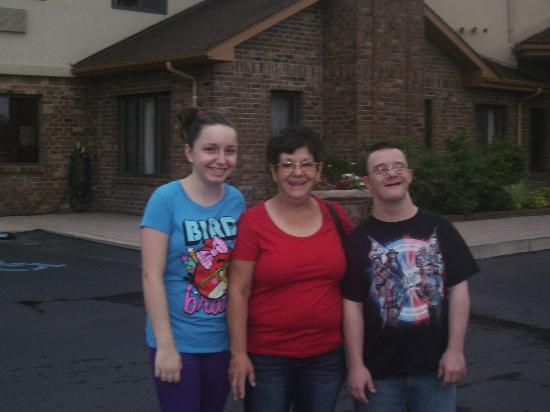 BEST WESTERN Lapeer Inn: before we left