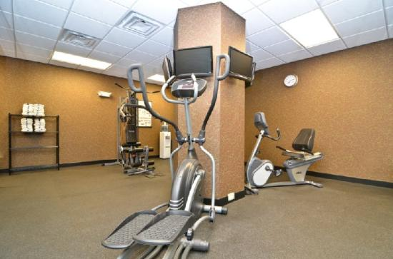 BEST WESTERN PLUS Brunswick Inn & Suites: Fitness Center