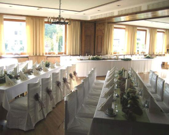 Rehau, Germany: Banquet Room