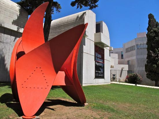 how to get to miro museum in barcelona