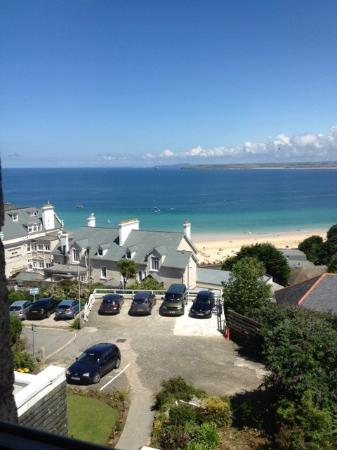 Chy-An-Albany: Fantastic sea view from our room